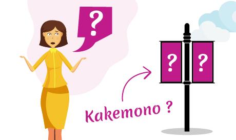 Conception kakémono 100% personnalisée pas cher par mongraphisme
