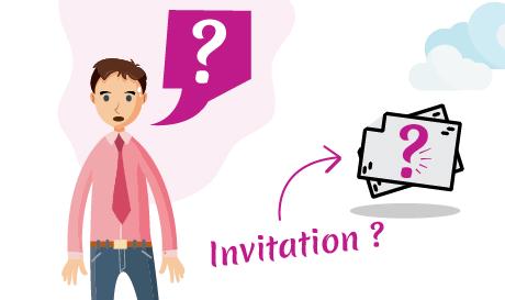 Conception carte invitation personnalisée pas cher par mongraphisme